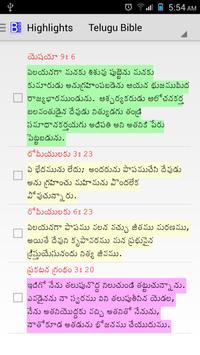 Telugu Bible Plus Ekran Görüntüsü 6