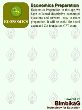 Economics Quiz screenshot 1