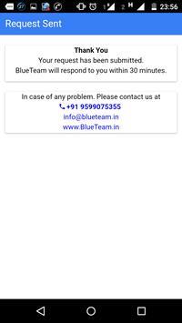 BlueTeam Hire Cook Maid Driver screenshot 4