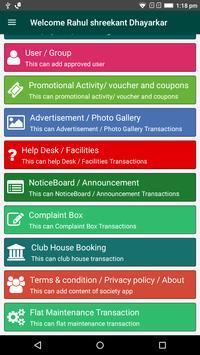 Patpert House Chairman Application screenshot 2