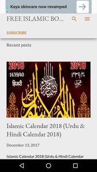 🥇 📆 Islamic Calendar 2018(Urdu & Hindi Calendar) screenshot 5