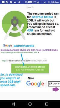 My Android Studio Tutorials screenshot 1