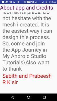 My Android Studio Tutorials screenshot 5