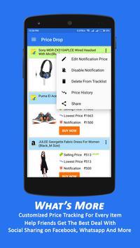 Price Drop: Price Tracker for Amazon Flipkart apk screenshot