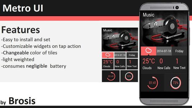 Metro UI apk screenshot