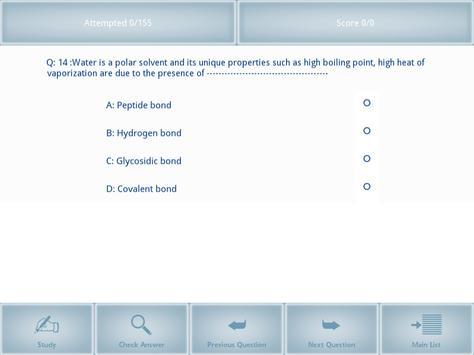 AIPMT Biomolecules I (Offline) screenshot 2