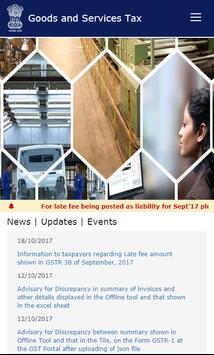 GST App Portal - Goods & Services Tax-Login India screenshot 2