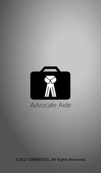 Advocate poster