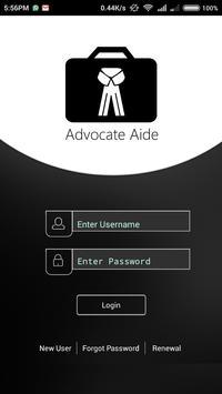 Advocate screenshot 1