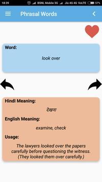 Hindi-English Vocabulary Builder (हिंदी-अंग्रेज़ी) screenshot 3