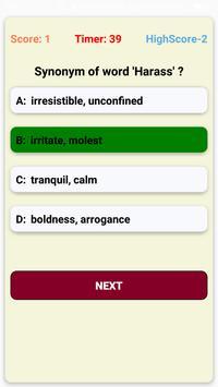 Hindi-English Vocabulary Builder (हिंदी-अंग्रेज़ी) screenshot 7