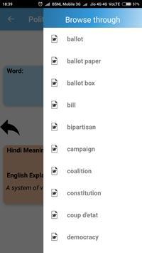 Hindi-English Vocabulary Builder (हिंदी-अंग्रेज़ी) screenshot 4