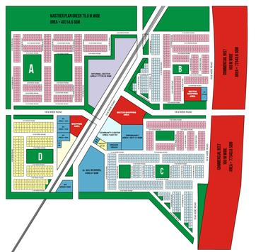 Sector MU 1 MAP, Greater Noida poster