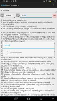Estonian Bible apk screenshot