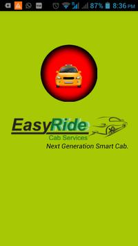 EasyRide Cabs - Book now. poster