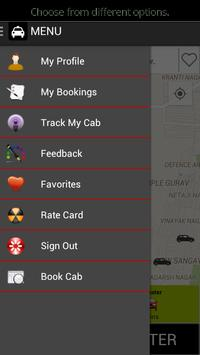 EasyRide Cabs - Book now. apk screenshot