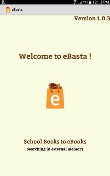 eBasta poster
