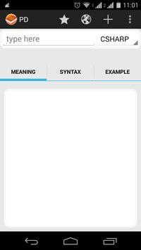 Programmer's Dictionary captura de pantalla 1