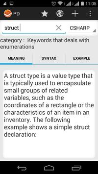 Programmer's Dictionary captura de pantalla 5
