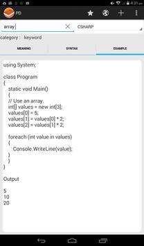 Programmer's Dictionary captura de pantalla 8