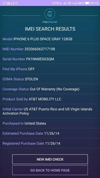 IMEI Checker screenshot 3