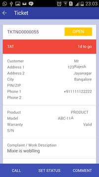 Service Tiket apk screenshot