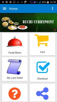 Ruchi Currypoint - DS app poster