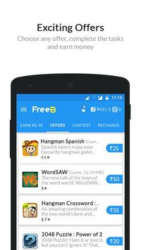 FreeB - Free Mobile Recharge poster