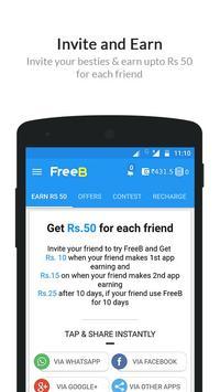 FreeB - Free Mobile Recharge apk screenshot