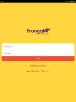 Froogal For Merchant poster