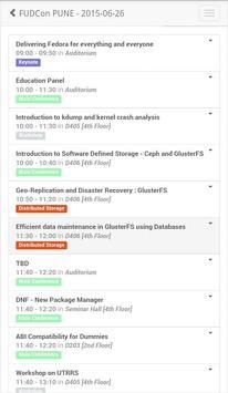 FUDCon Pune 2015 apk screenshot