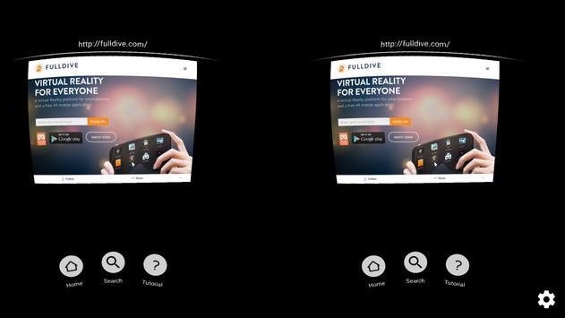 FD VR - Virtual 3D Web Browser poster
