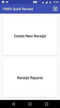 finex quick receipt for android apk download