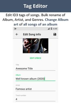 Musicolet Music Player [Free, No ads] apk screenshot