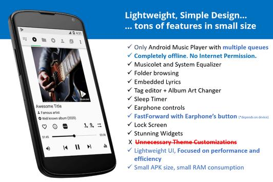 Poster Musicolet Music Player [Free, No ads]