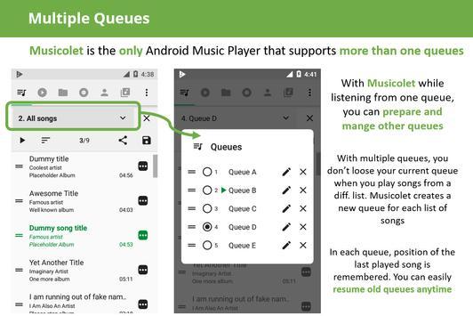 Musicolet screenshot 1