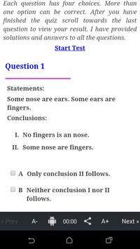 Statements Conclusion -3(IBPS) poster