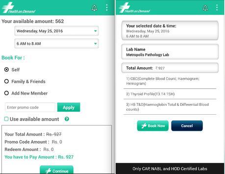 HOD - Health On Demand apk screenshot