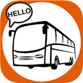 HelloBus - Online Bus Ticket and Hotel Booking icon