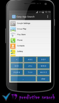 Easy App Search -T9 Predictive for Android - APK Download