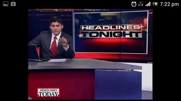 Headlines Today apk स्क्रीनशॉट