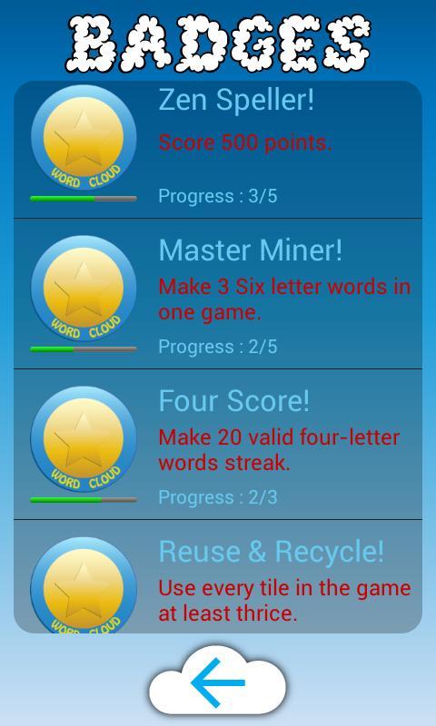 Zen Words Game