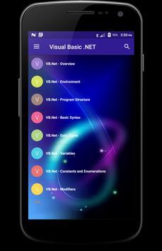 Learn - Visual Basic .NET poster