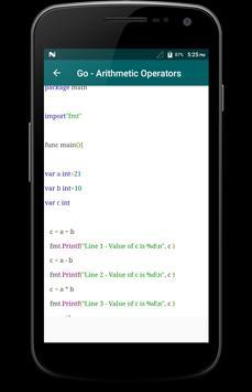 Learn - Go-Lang screenshot 2
