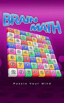Brain Math poster