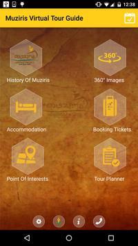 Muziris Virtual Tour Guide poster