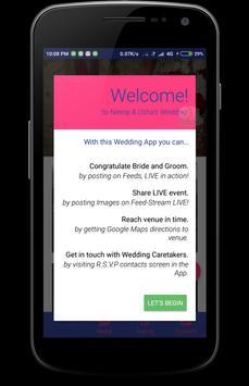 Nyota-Himanshee weds Digvendra apk screenshot