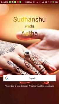 Nyota - Sudhanshu weds Astha poster