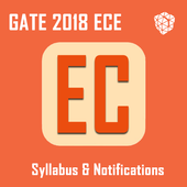GATE Syllabus for EC 2018 & Notifications icon