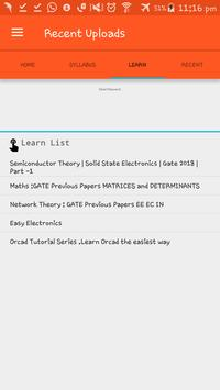 GATE Syllabus for EC 2018 & Notifications screenshot 5